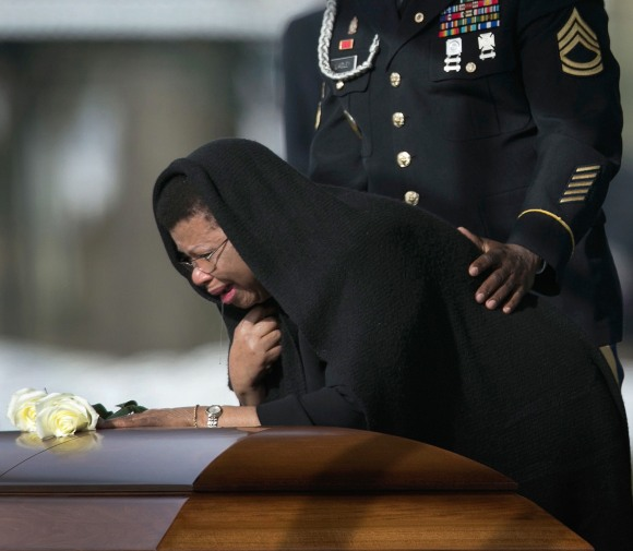 Soldier Killed By IED In Afghanistan Buried At Arlington Nat'l Cemetery