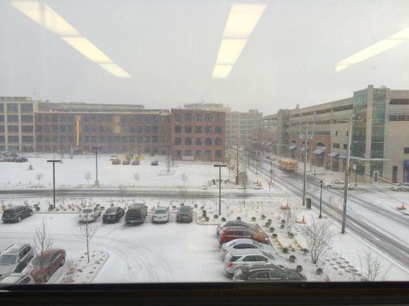 It's fucking cold today in New Haven, CT. It's pretty, like Siberia is pretty.