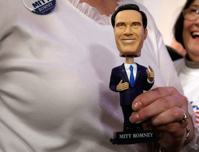 Mitt Romney Holds Florida Primary Night Event