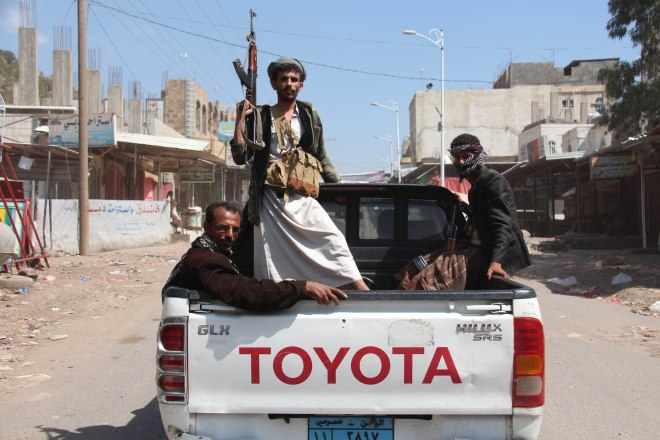 Houthis take control of al-Udayn district in Ibb, Yemen